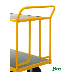Duwbeugel 650 mm voor duwwagen KM144650 en KM144600B