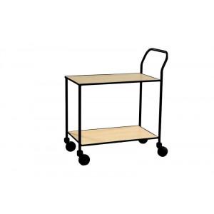 Design tafelwagen met 2 legborden