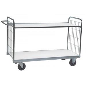 Tafelwagen met 2 in hoogte verstelbare legborden