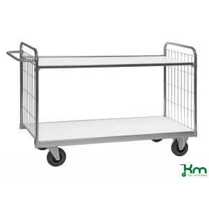 Tafelwagen verzinkt met 2 legborden, draagvermogen 300 kg