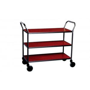 Design tafelwagen met 3 legborden