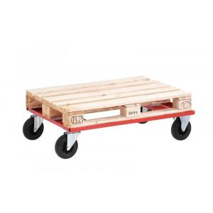 Palletonderwagens voor halve pallets en europallets, laag model
