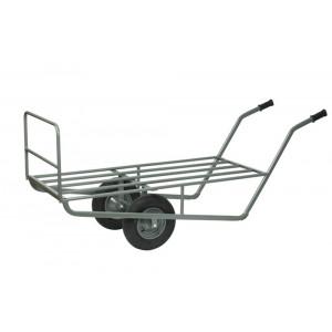 Ramenwagen met buizen laadvloer, 2-wielig