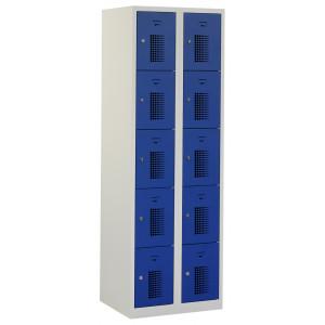Tretal locker, type NH, 2-delig, 10 deuren