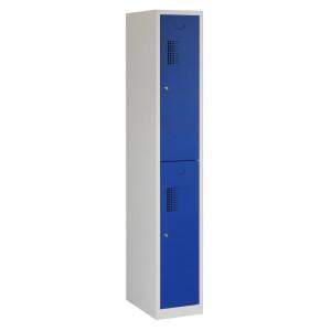 Tretal locker, type NH, 1-delig, 2 deuren