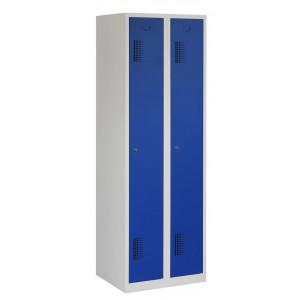 Tretal garderobekast, type NH, 2-delig, 2 deuren