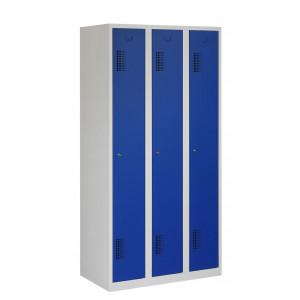 Tretal garderobekast, type NH, 3-delig, 3 deuren