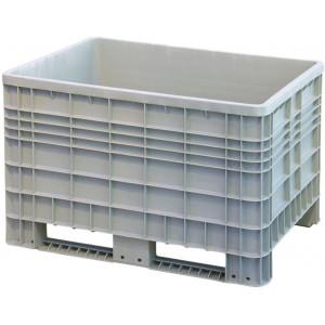 Tretal kunststof palletbox met sleeplatten 1165 x 800 x 800 mm