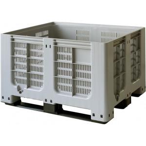 Tretal kunststof palletbox geperforeerd 1200 x 1000 x 760 mm