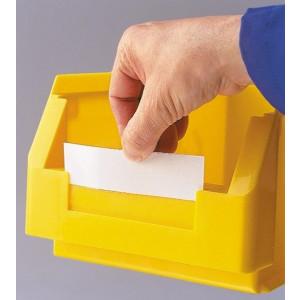 Etiket, wit voor ®RasterPlan magazijnbak grootte 8