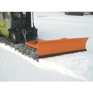 Sneeuwschuiver met 2-voudig instelbaar ruimschild