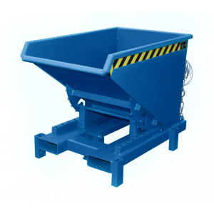 Heavy duty kiepcontainer, gelakt of verzinkt 300 liter