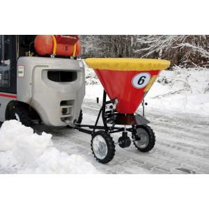 Strooiwagen voor zout en zand